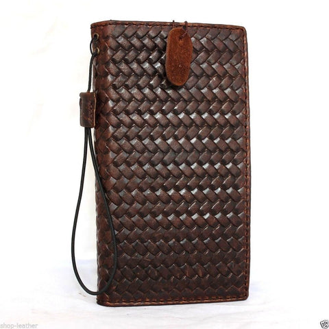 genuine oiled leather hard case for Galaxy NOTE 4 LEATHER CASE  cover purse book pro wallet stand  flip uxury jp daviscase