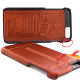 genuine real leather case for iphone 6s plus cover 6+ book wallet band classic luxury slim JP daviscase