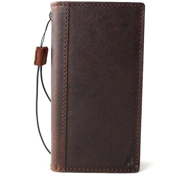 Genuine Real Leather Case fit for Huawei Mate 20 Pro  Book Wallet Handmade Retro Luxury wireless charging IL
