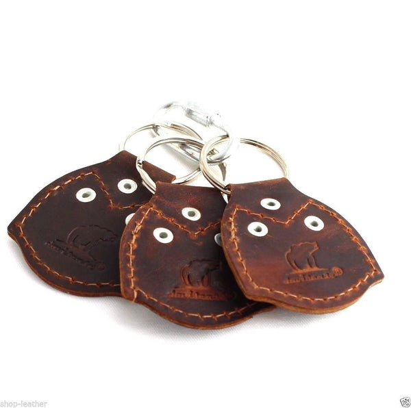 Genuine real Leather Key Holder handmade set holder mens small compat Retro case set