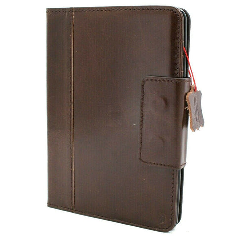 Genuine vintage Leather case for Apple iPad mini 5 (2019) cover handbag cards slots luxury Jafo 5th Generation