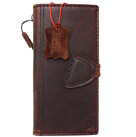 Genuine Real Leather Case fit for Google Pixel XL Book Wallet Handmade Retro Luxury magnetic IL