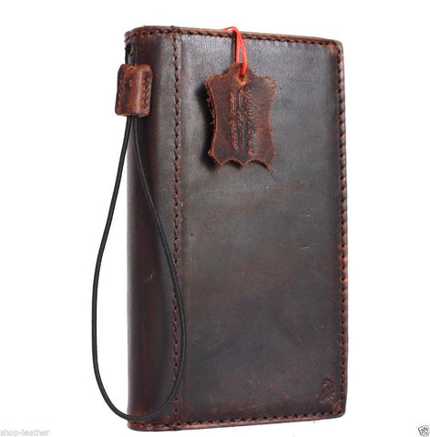 Genuine vintage leather Case for LG G Stylo slim cover book luxury Magnet wallet handmade daviscase