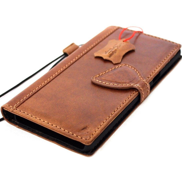Genuine italian leather case for samsung galaxy note 8 book wallet magnet closure cover cards slots slim D jafo 48