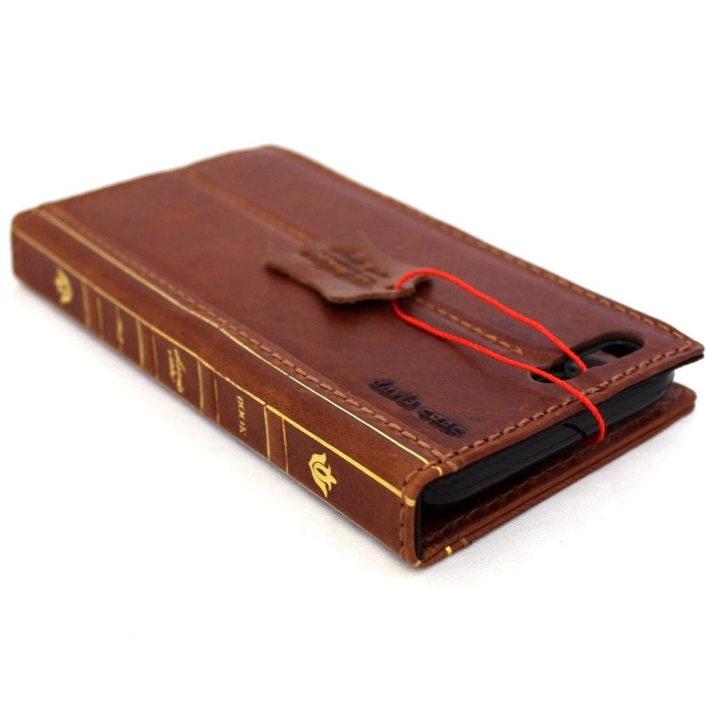 Genuine Real Full Leather Iphone 7 Plus Case Cover Bible