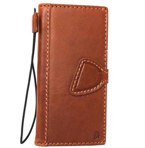 Genuine Real Leather Case for Google Pixel Book Wallet Handmade Retro magnetic Luxury JP slim
