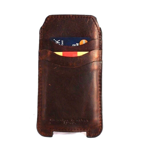 genuine italy leather case for iphone 6 cover book wallet credit card magnet luxurey flip slim R 60s daviscase