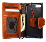 genuine full leather case for iphone 8 cover book wallet cards magnetic slim D davis classic Art Wireless charging lite
