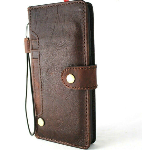 Genuine Vintage leather Case for Samsung Galaxy S20 PLUS Book Soft Wallet Cover Cards Holder Luxury Rubber ID Davis