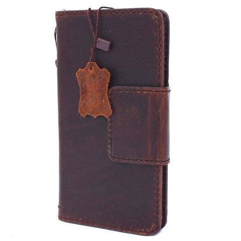 Genuine Real Leather Case for Google Pixel Book Wallet Handmade magnetic Retro Luxury IL slim
