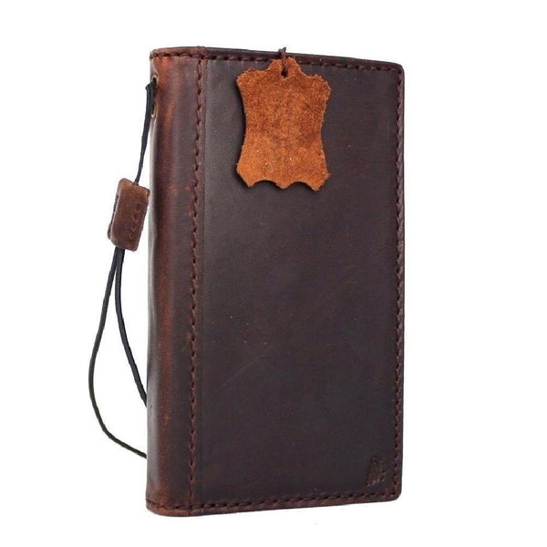 genuine vintage leather for samsung galaxy s7 active Case book wallet luxury 7 s