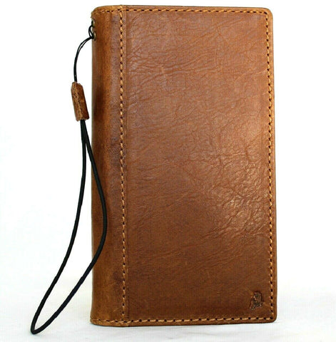 Genuine leather Case for Samsung Galaxy S20 plus book wallet cover Cards Wireless Tan charging holder luxury rubber ID