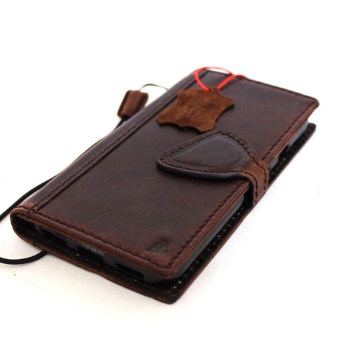 Genuine italian Leather Case for Google Pixel XL Book Wallet Handmade Luxury design magnetic jafo 48