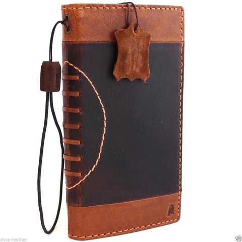 genuine OIL leather case for iphone 6s plus Sport cover 6  s book wallet band credit card id magnet business slim magnet  JP daviscase