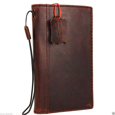 Genuine Real Leather Case for Samsung Galaxy S6 Edge Plus Bible Book Wallet Handmade Retro Luxury Nz