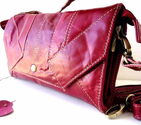 Genuine natural leather pink woman purse tote Ladies wallet Clutch bag Coins