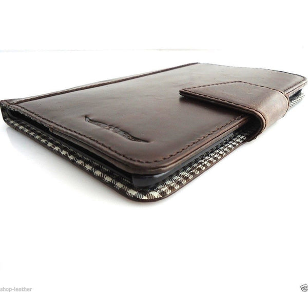 genuine real Leather Bag for iPad 3 mini air case cover luxury 2 1 credit cards