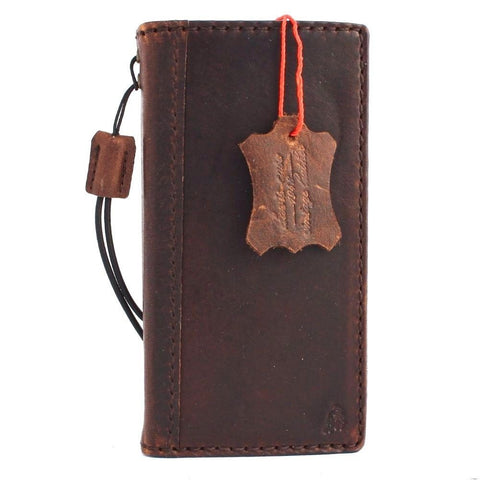Genuine soft leather Case for Samsung Galaxy S4  SIII s 4 book wallet handmade il