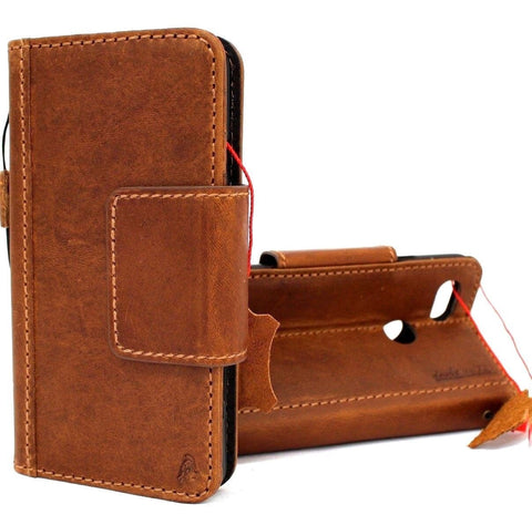 Genuine Leather Case for Google Pixel 3 Book Wallet Handmade holder Retro magnetc Luxury IL Davis soft de