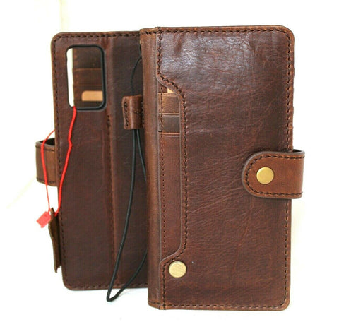 Genuine leather Case for Samsung Galaxy Note 20 Book Soft Wallet Cover Cards Holder Luxury Rubber ID Davis Vintage 5G