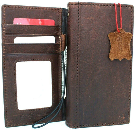 Genuine full leather case for samsung galaxy note 10 book slim luxury slots rubber holder stand window