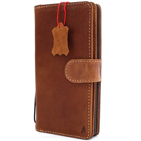 Genuine leather Case for Samsung Galaxy S10e book wallet cover Cards flip Removable rubber holder slim daviscase