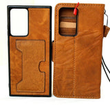 Genuine Leather case for Samsung Galaxy Note 20 Ultra Book Wallet Removable luxury slots rubber Detachable Holder Wireless Charging note20