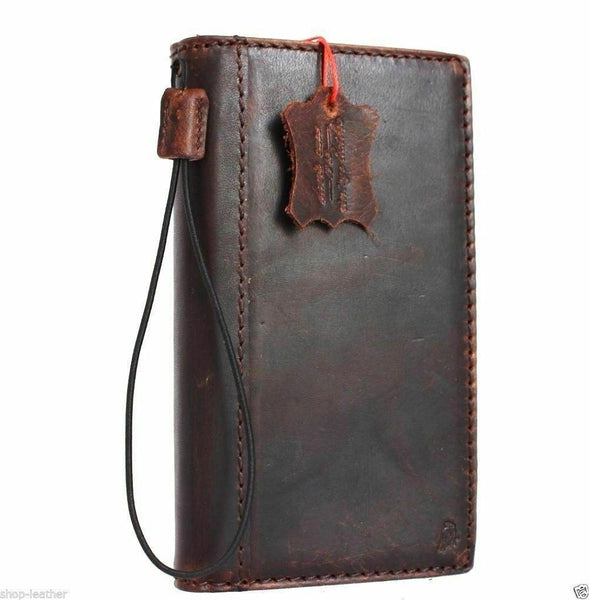 Genuine Real Leather Case for Google Pixel 3A Book Wallet Handmade holder Retro Luxury IL Davis 1948 il