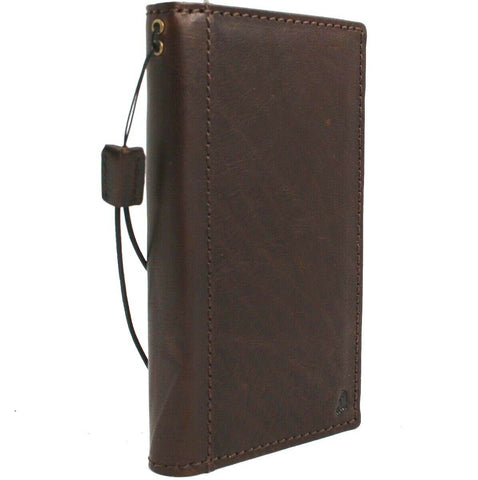 Genuine leather Case for Samsung Galaxy S10 book wallet cover Cards wireless charging holder luxuey rubber ID