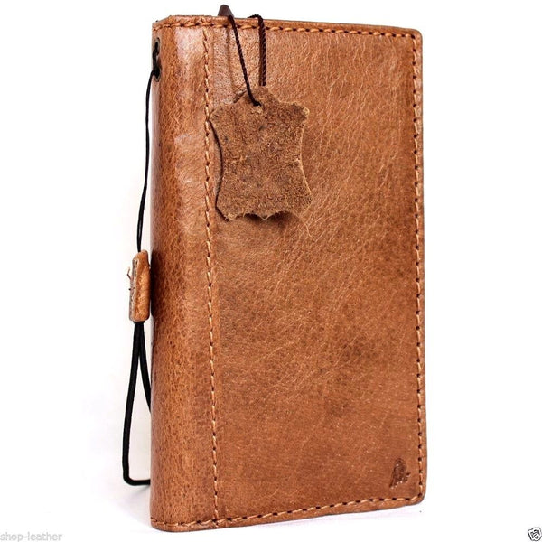 genuine full leather Case for Samsung Galaxy note 5 book wallet luxury cover 5 slim daviscas lite de