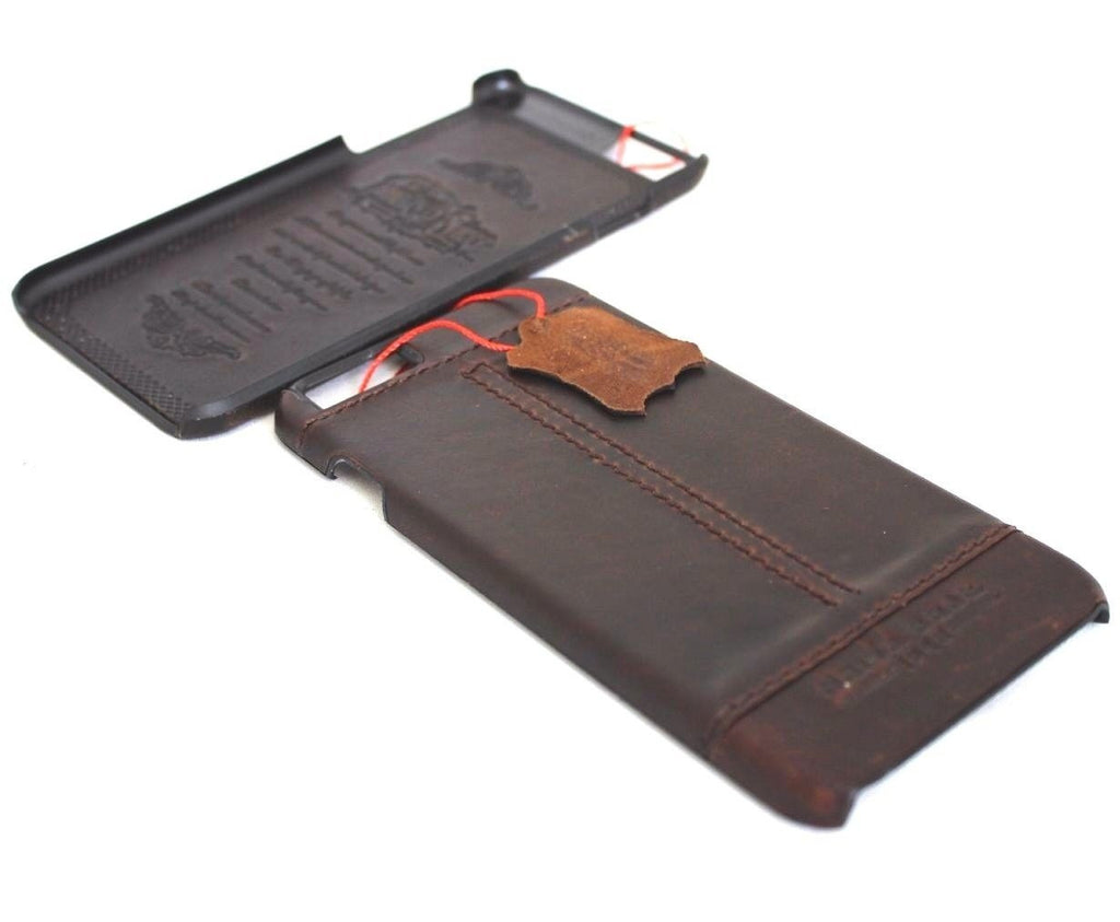 Genuine Real Leather For Iphone 6 6s Safe Case Slim Luxury Thin