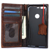 Genuine Real Leather Case for Google Pixel Book Wallet Handmade Retro Luxury IL slim Davis 48