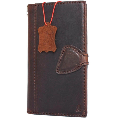 genuine real leather Case for LG G6 slim cover book luxury magnetic wallet hand made daviscase H870 H870K H870V H870S