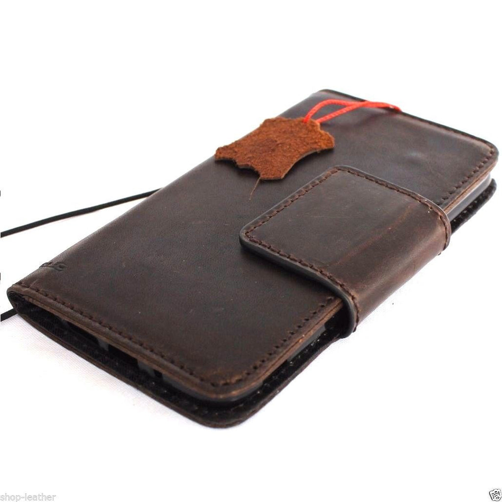 the best attitude 8f7dc 41f92 genuine vintagr leather Case for LG G5 slim cover book luxury pro wallet  handmade daviscase