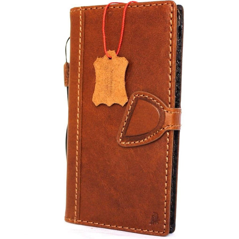 Copy of Genuine REAL leather case for  iPhone 8 plus magnetic 3D lite cover wallet credit holder book luxury Rfid Pay