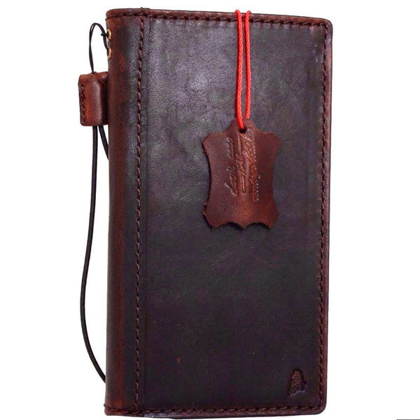 Genuine Real Leather Case for Huawei p10 lite Book Wallet slim cover Hand made Luxury brown thin daviscase VTR-L09VTR-L29VTR-AL00VTR-TL00