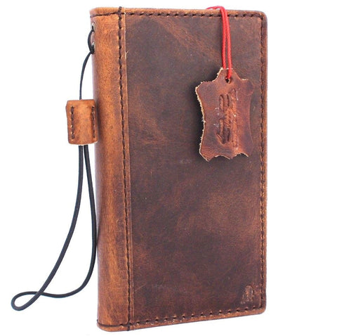 Genuine real leather for apple iPhone 6 6s case cover slim holder with wallet credit luxury vitage Jafo 1948