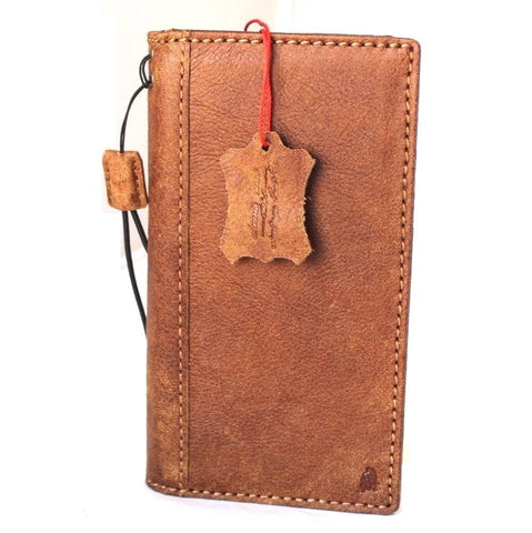 Genuine real leather Case for LG G6 book wallet cover luxury cards slots slim hand made vintage style daviscase