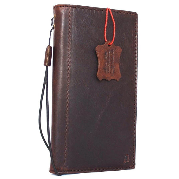 Genuine italian leather Case for Samsung Galaxy S8 PLUS book wallet handmade cover s Businesse daviscase