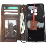 Genuine italian leather Case for Samsung Galaxy S9 book wallet handmade cover s Businesse daviscase