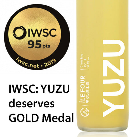 YUZU wins GOLD Medal at 2019 IWSC