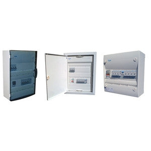 Hager consumer units starting from 4 way to 12 way. - Ahuja Electricals - UAE largest distributors of electricals goods