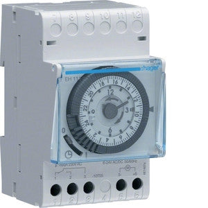 Hager EH111 - Analogue time switch with reserve - Ahuja Electricals - UAE largest distributors of electricals goods