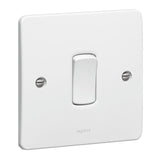 Synergy White - 1 gang - 1 way switch  - Legrand 730000
