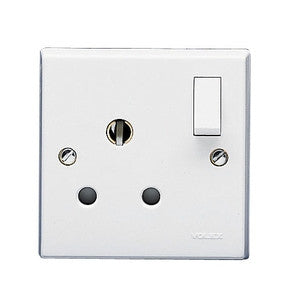 Volex 15A switch socket - Ahuja Electricals - UAE largest distributors of electricals goods