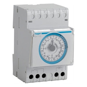Hager EH110 - Analogue time switch without reserve - Ahuja Electricals - UAE largest distributors of electricals goods