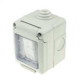 10A 1G 1W waterproof switch IP55