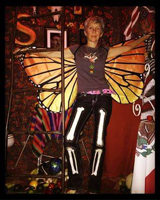 Tracy Martinez' fantastic installation.  It was unveiled up on September 16th, to be part of the Tour de Loo during Third Friday.  She won best installation ($200 prize sponsored by Silvertron Café)