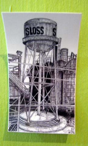 Sloss Stickers by Rich Stevens. $1.00!