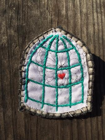 Felt pins by local artist Kristie David. $18.00 - $20.00